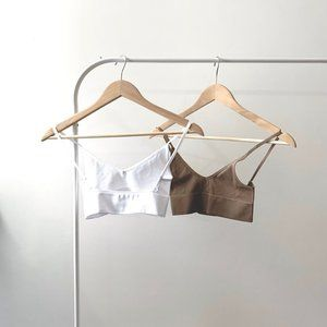 Duo Low Back Bralette Crop Top